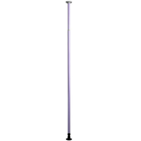Gymax Purple Dance Pole Full Kit Portable Stripper Exercise Fitness ()