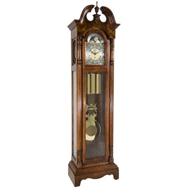 Hermle 010874041161 Chester Grandfather Clock Dark Oak by