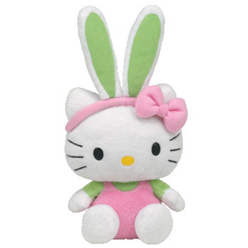 Hello Kitty Beanie Baby Plush [Pink Bunny] by TY Inc