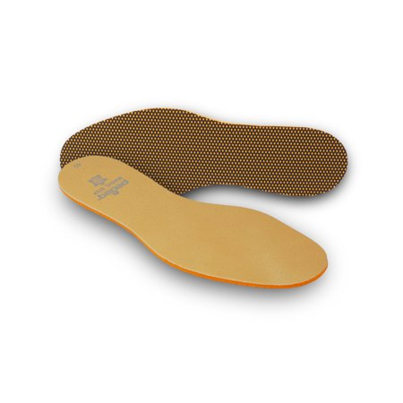 pedag? MAGIC STEP Memory Foam Insole with Leather Top and Charcoal Anti-Odor, Size 8L