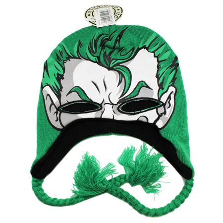 DC Comic's The Joker Eye Cut-Out Peruvian Style Mask Beanie - Peru Halloween