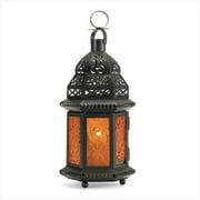 SWM 39923 Yellow Moroccan Lantern