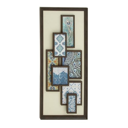 Studio 360 Wooden Framed Abstract Wall Art
