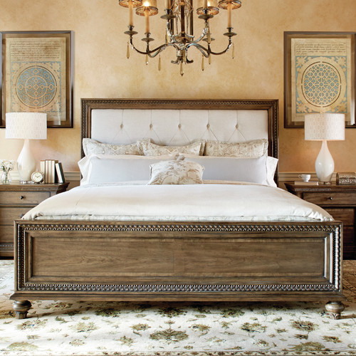 Legacy Classic Furniture Renaissance Upholstered Panel Bed
