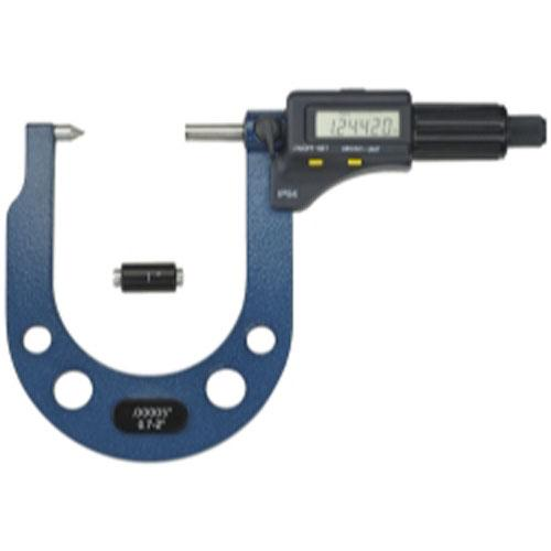 "Extended Range Electronic Brake Rotor Micrometer - 0.3"" t..."