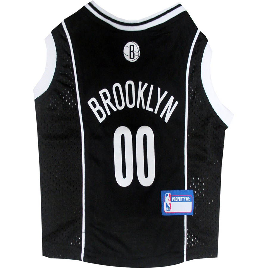 Pets First NBA Brooklyn Nets Mesh Basketball Dog Jersey, Available in Various Sizes