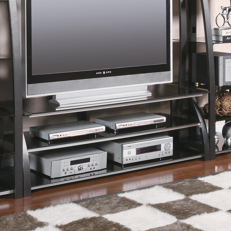 Coaster Company TV Console, Matte Black