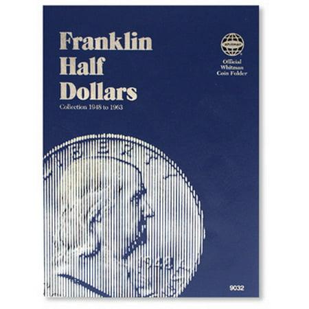 - Franklin Half Dollars 1948-1963 Coin Folder