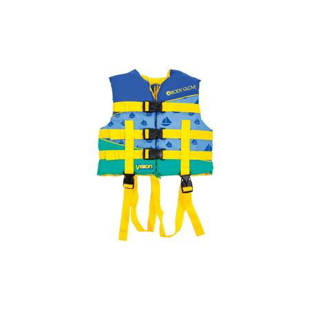 - Body Glove Blue Nylon Vision Children's Life Vest