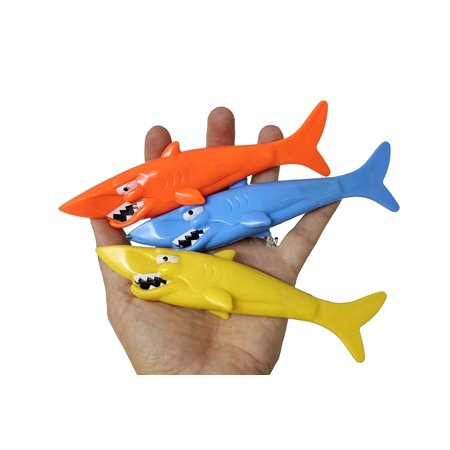 Cool Shark Pool (Shark Pool Dive Sticks - Pool, Beach and Bath Toy )