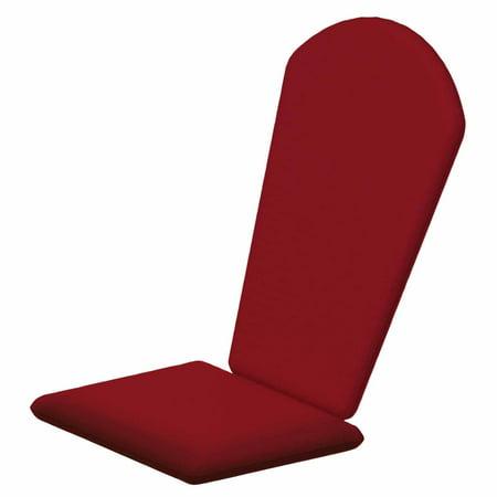 Wondrous Polywood Sunbrella 47 75 X 22 In Seashell Adirondack Chair Cushion Theyellowbook Wood Chair Design Ideas Theyellowbookinfo
