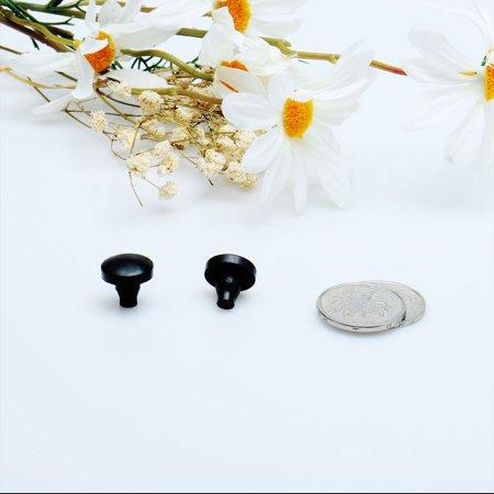12pcs 6mm Black Stem Bumpers Glide, Patio Outdoor Furniture Glass Desk Top - image 3 de 4