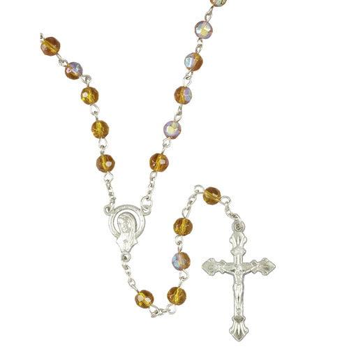 Santos Birthstone Rosary, November