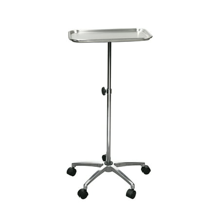 Drive Medical Mayo Instrument Stand With Mobile 5   Caster Base