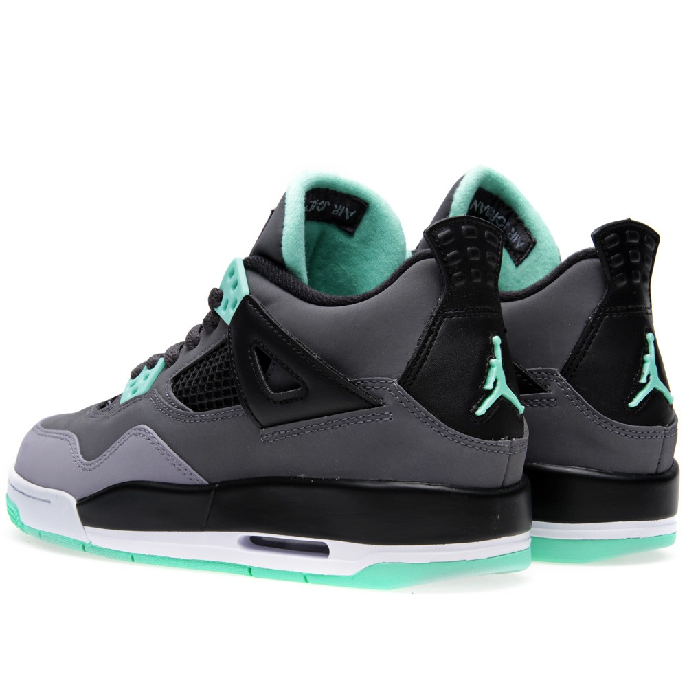 air jordan 4 retro green glow gs