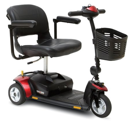 Pride Mobility - Go-Go Elite Traveller - Lightweight Travel Scooter - 3-Wheel - 12 Ah