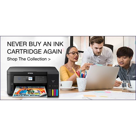Epson EcoTank Wireless All-in-One Cartridge-Free Printers