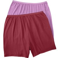 Comfort Choice Plus Size 2-pack Cooling Boxer  Panties