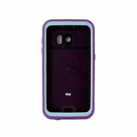 LifeProof FRE Series Waterproof Case for Samsung Galaxy S7 - Purple   Light  Blue (Refurbished) - Walmart.com ffde99e446