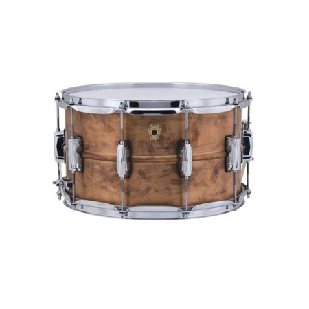 ludwig copperphonic snare drum with raw shells 8 x14. Black Bedroom Furniture Sets. Home Design Ideas