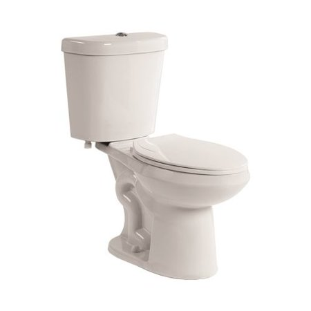 Premier Faucet All-in-One Comfort Height Dual Flush Elongated One-Piece Toilet (Seat