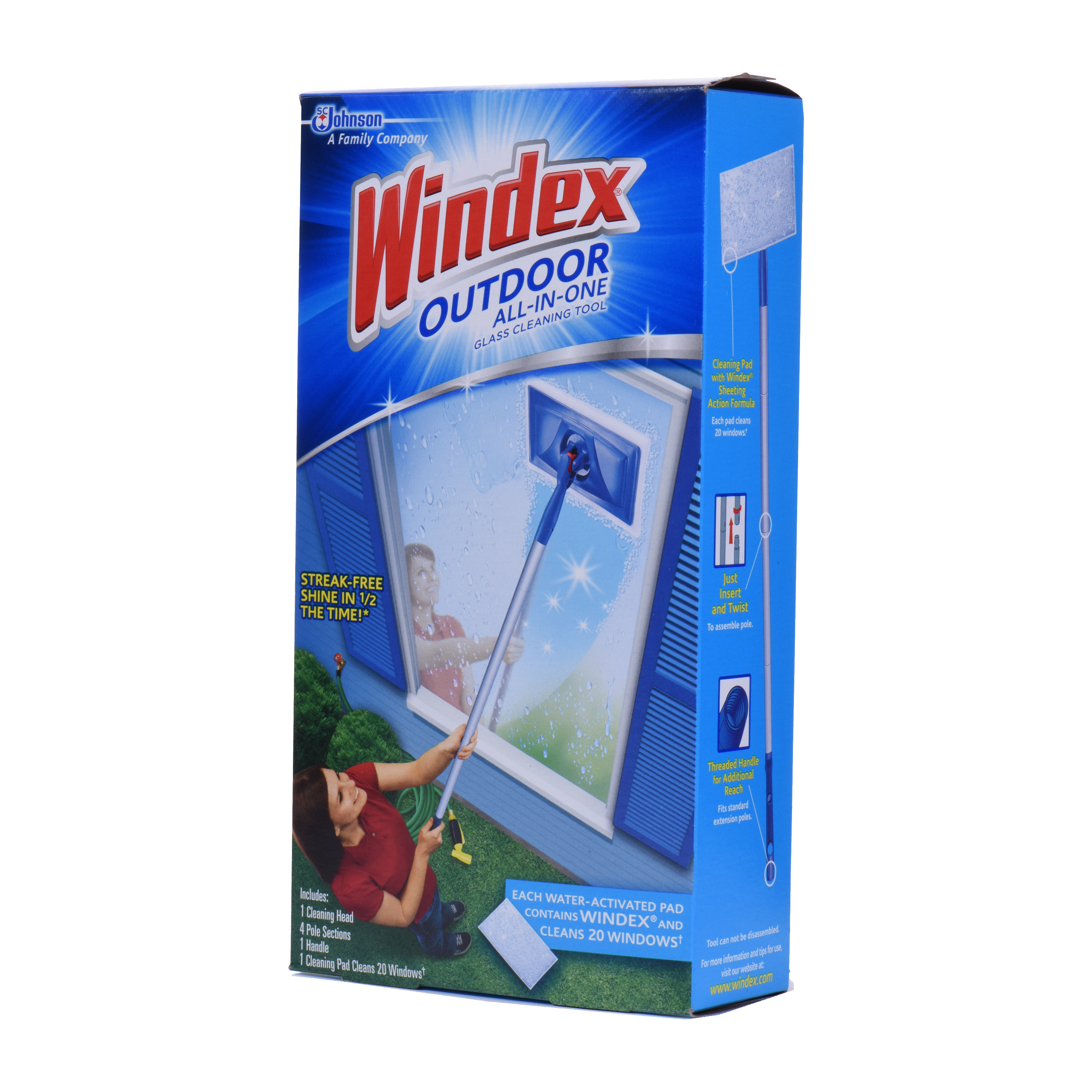 Windex Outdoor All-in One Glass Cleaning Tool Starter Kit - Walmart.com