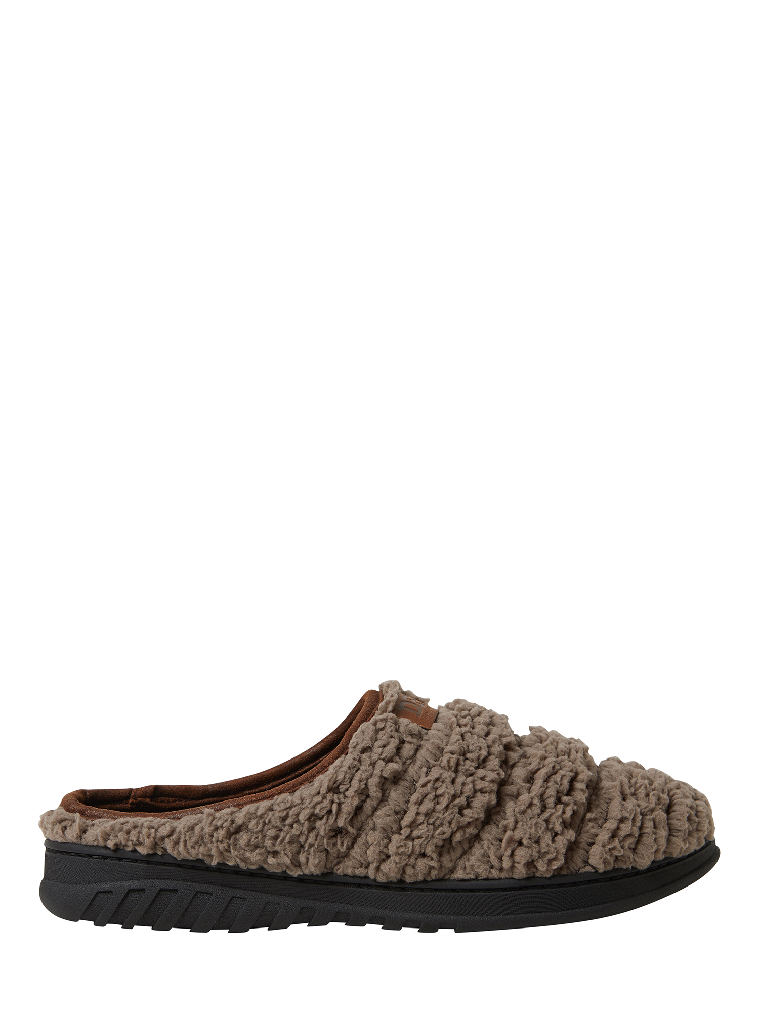 Dearfoams - DF by Dearfoams Men's Faux Sherpa Clog Slippers - Walmart.com