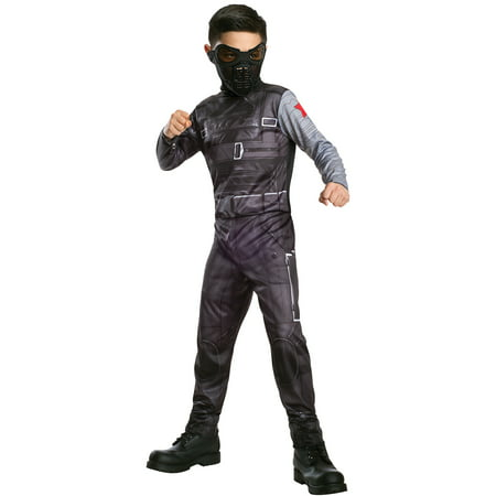 Captain America 2 Classic Winter Soldier Child Halloween Costume - Captain America Winter Soldier Costume For Sale