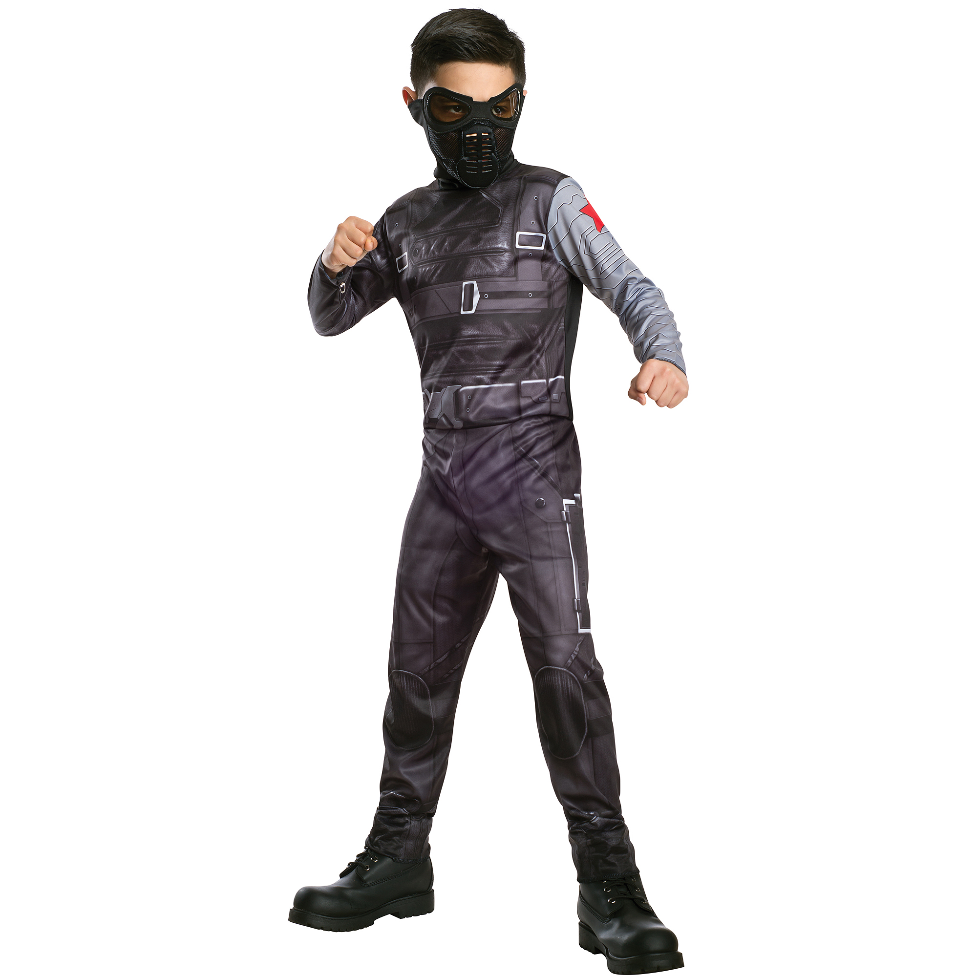 Captain America 2 Classic Winter Soldier Child Halloween Costume