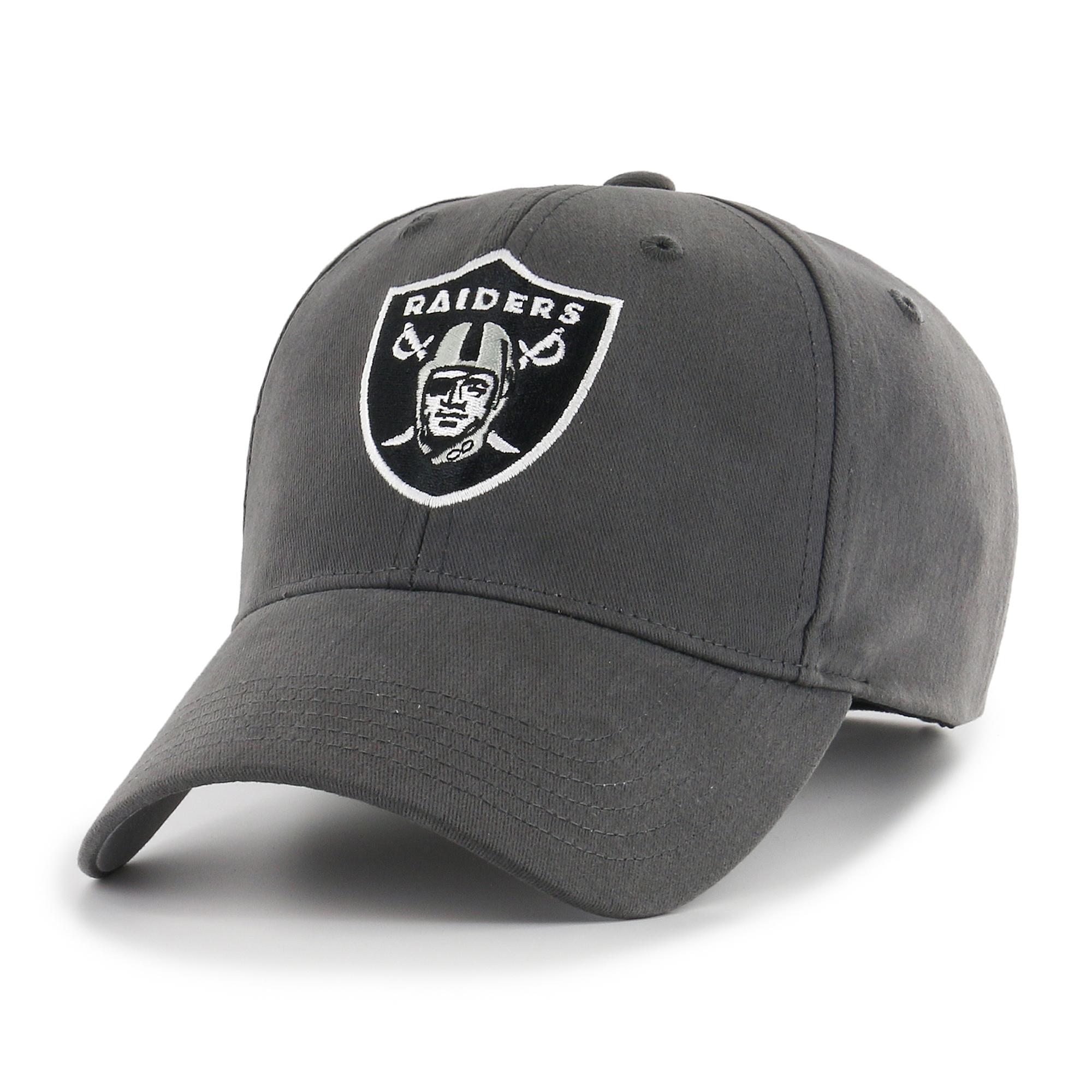 NFL Oakland Raiders Basic Adjustable Cap/Hat by Fan Favorite