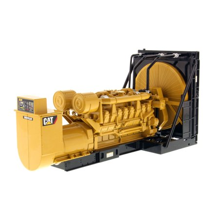 Set Model Engine (CAT Caterpillar 3516B Engine Generator 3-Piece Set