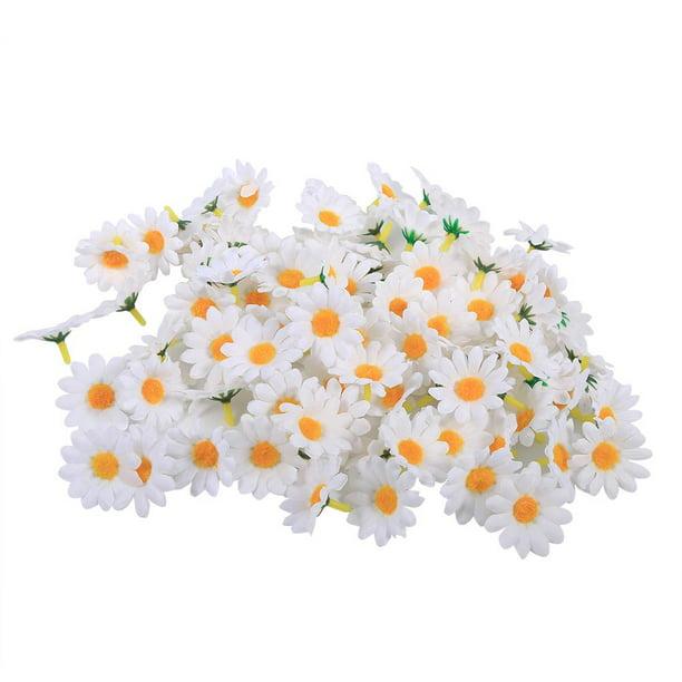 100pcs Artificial Gerbera Daisy Flower Heads Wedding Party Decoration Craft