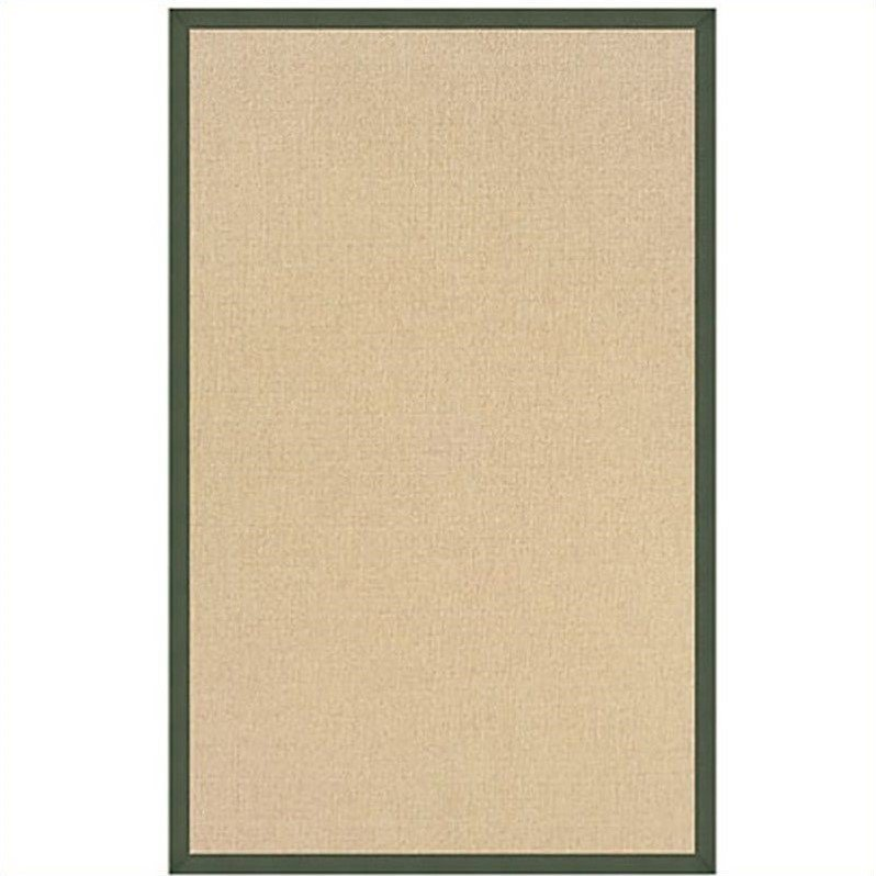 Linon Athena Runner, Natural with Black, 2.6ft x 8ft