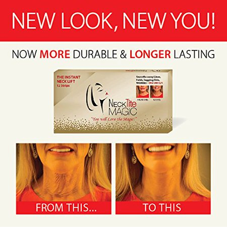 The Instant Neck Lift Smooths Away Lines Folds Sagging Skin by NeckTITE Magic