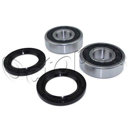 350 Rod Bearings (HONDA TRX350TE 350 2x4 Rancher ATV Bearings & Seal kit Front Wheel)