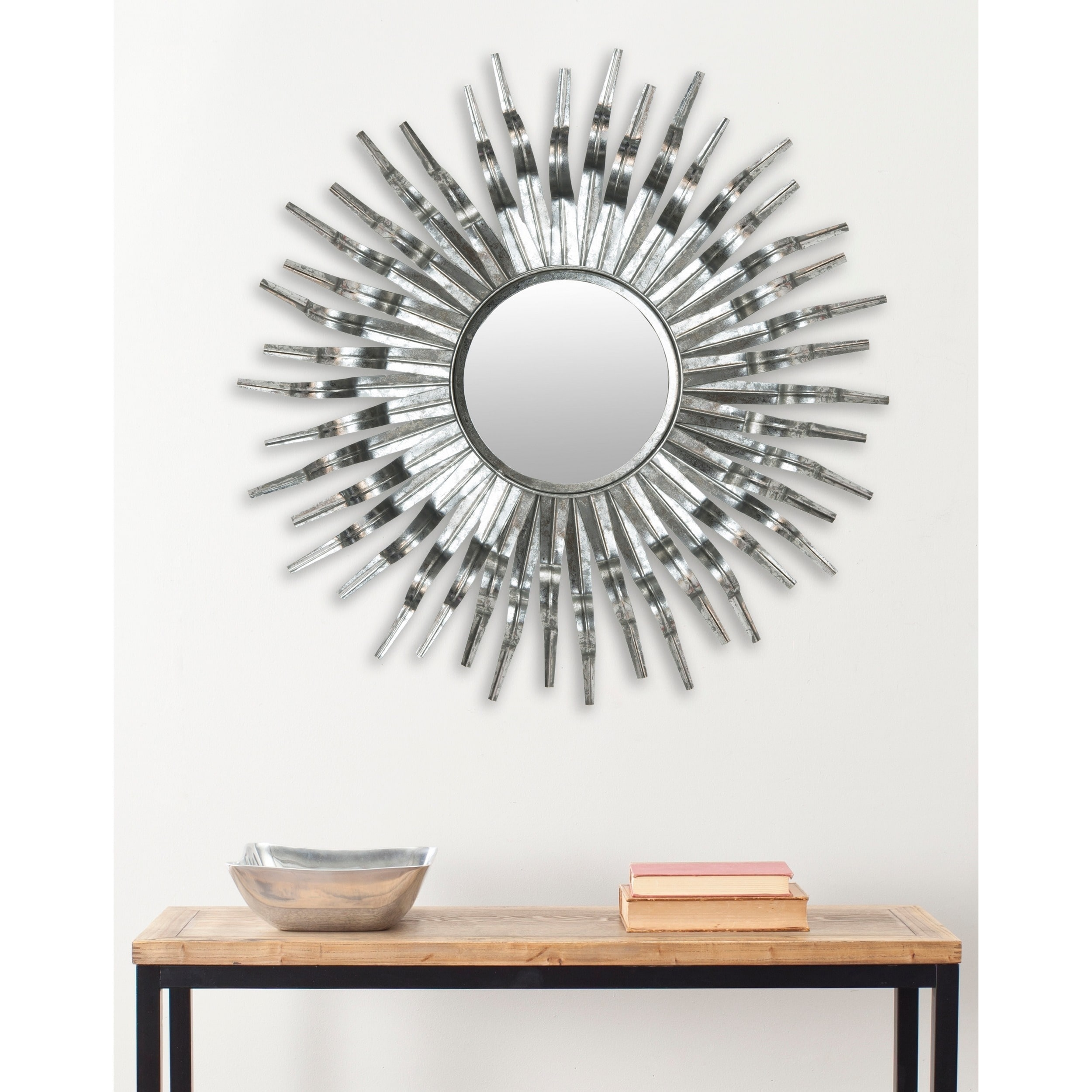 Safavieh Contemporary Sun Round Mirror