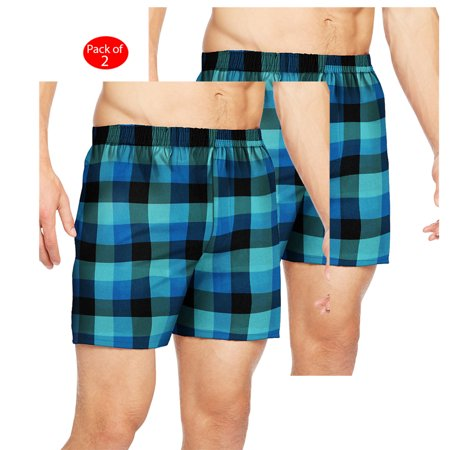 e922e3e8a33b Hanes Men's TAGLESS; Ultimate Fashion Boxer with Comfort Flex; Waistband  Assorted Pattern Blues 3