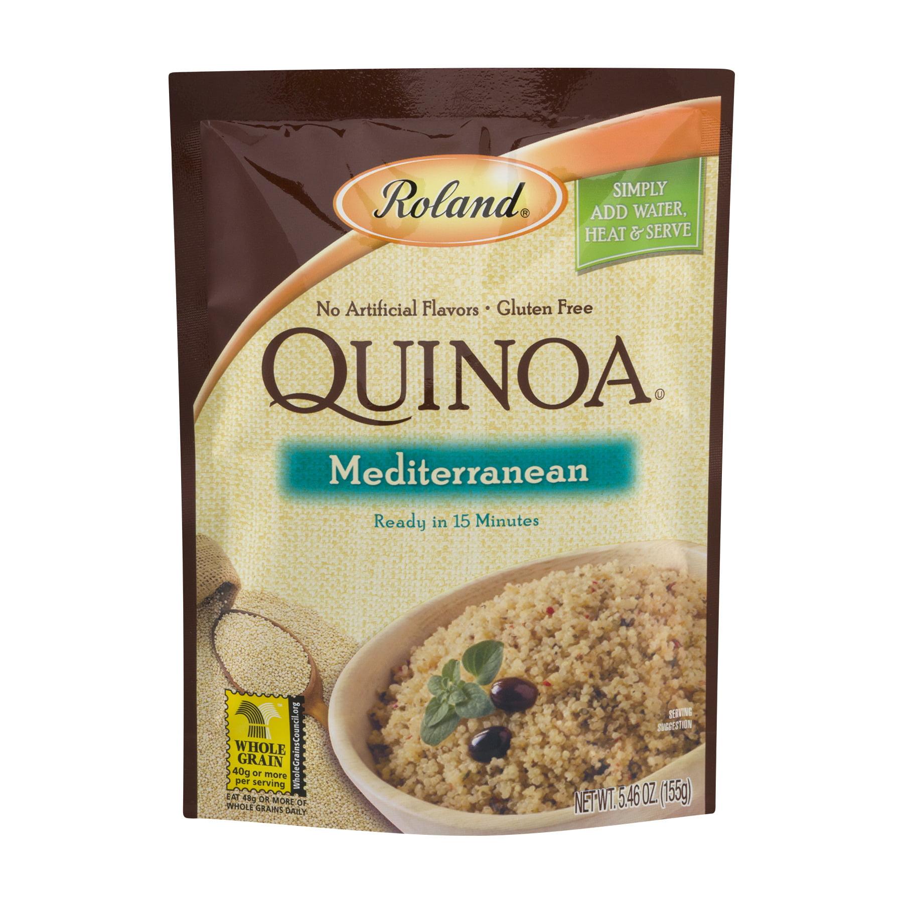 (2 Pack) Roland Mediterranean Quinoa, 5.46 oz