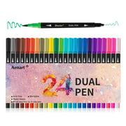 Best Adult Markers - Dual Tip Art Marker Pens Fine Point Bullet Review