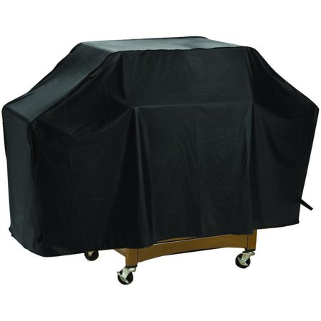 Omaha Tools - Omaha Grill Cover, For Use With Cart Style Grills, Vinyl, Black
