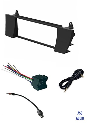 asc car stereo install dash kit wire harness and antenna adapter rh walmart com