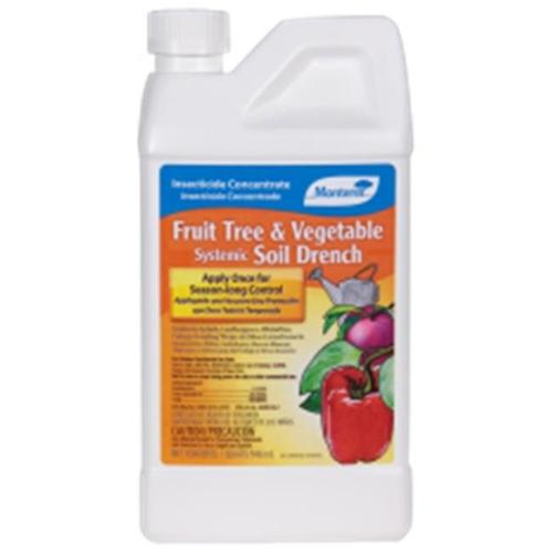 Monterey LG 6278 Fruit Tree & Vegetable Systemic Soil Drench-Gal 128oz - Pack of 4
