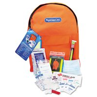 Emergency Preparedness First Aid Backpack, 43 Pieces/Kit -FAO90123
