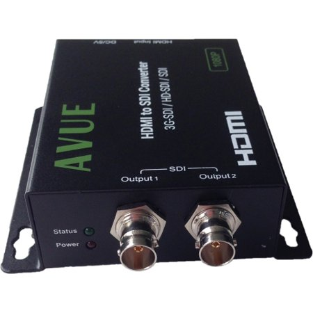 Avue SDH-T01 – HDMI to SDI Converter – Functions: Signal Conversion – 1920 x 1080 – Wall Mountable