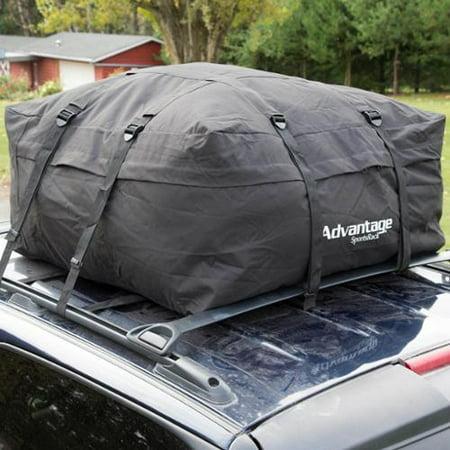 Heininger Holdings  Llc Advantage Sportsrack Soft Top Weather Resistant Roof Top Cargo Bag
