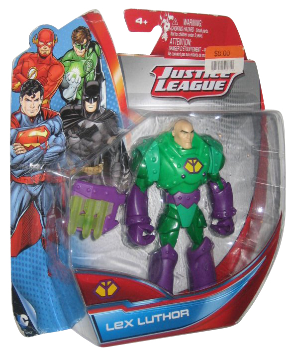 DC Superman Justice League Lex Luthor Exclusive Mattel Action Figure by Mattel