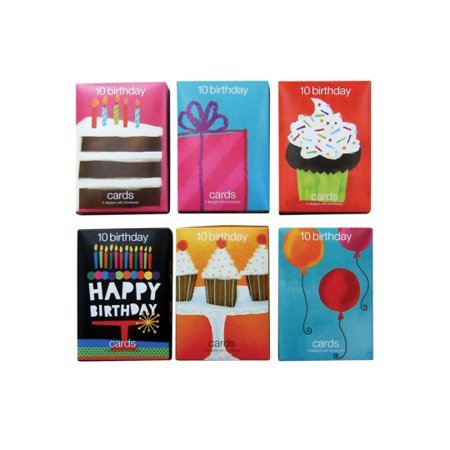 Price PackSS Worldwide Value Birthday Greeting Cards