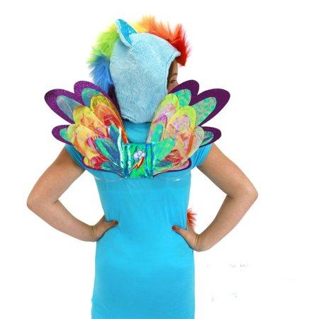 My Little Pony Rainbow Dash Costume Wings - Rainbow Fairy Wings