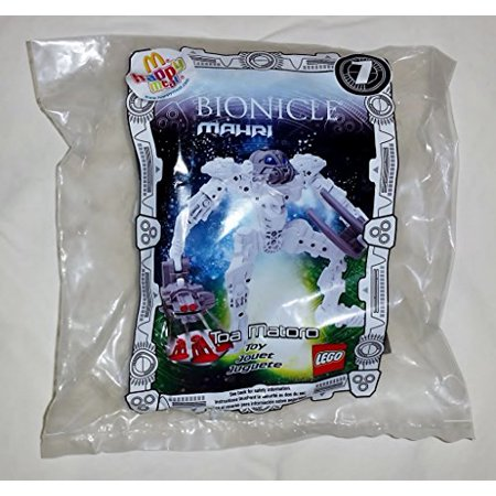 McDonalds Happy Meal Lego Bionicle Mahri Toa Matoro Toy #7 2007](Mcdonalds Happy Meal Halloween Toys)