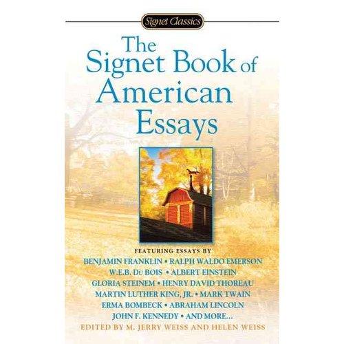 signet american essays